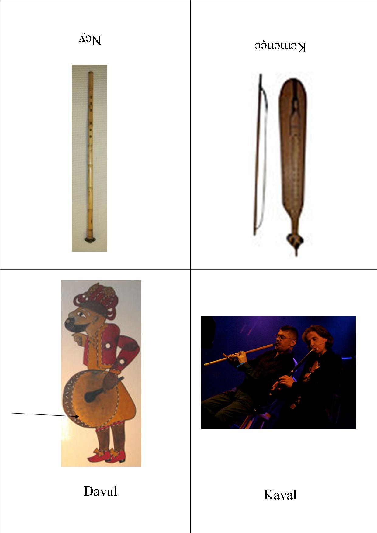 Imagier des instruments de musique turques petits for Instruments de musique dax